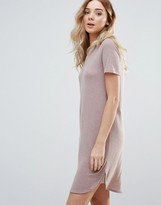 Vila Short Sleeve T-Shirt Dress