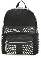 Philipp Plein Season backpack - men - Leather/Nylon/metal - One Size