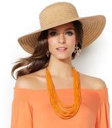 Iman Global Chic Woven Straw Sun Hat