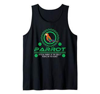 Official Parrot Of The Coolest People - Parrot Lover Tank Top