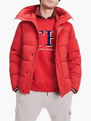 Tommy Hilfiger Stretch Hooded Bomber Jacket