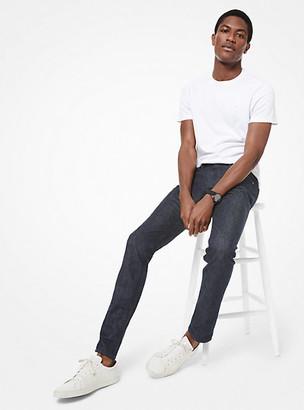 Michael Kors Parker Slim-Fit Stretch-Cotton Jeans