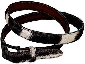 Ralph Lauren White Leather Belts