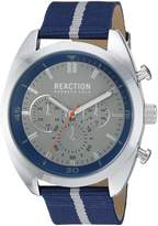 Kenneth Cole Reaction Men's 'Sport' Quartz Metal and Nylon Casual WatchMulti Color (Model: 10031953)