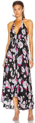 Isabel Marant Raizama Dress in Faded Night | FWRD