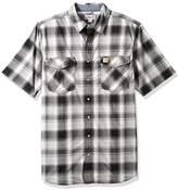 Carhartt Men's Big and Tall Rugged Flex Bozeman Short Sleeve Shirt