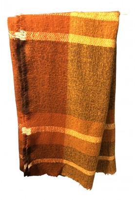 Zara Brown Wool Scarves