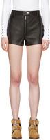 3.1 Phillip Lim Black Classic Leather Shorts