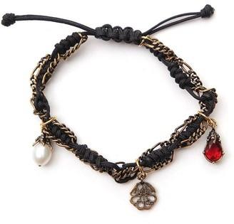 Alexander McQueen Woven Bracelet