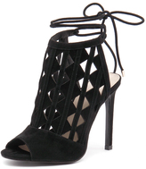 Wanted Lena Black Suede