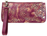 Patricia Nash Metallic Overdye Collection St. Croce Wristlet