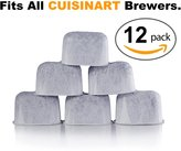 K&J Charcoal Filters 12-Pack K&J Replacement Water Filters for Coffee Makers - DCC-RWF Compatible