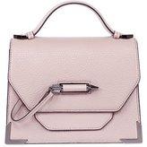 Mackage Keeley Dual Leather Crossbody Shoulder Bag In Blush
