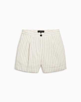 Rag & Bone Ivy mini linen short