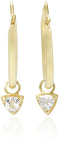 Ila Jaylin 14K Gold Sapphire Earrings