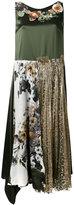 Antonio Marras embroidered shift dress - women - Silk/Polyester/Viscose - 40