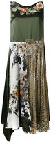 Antonio Marras embroidered shift dress - women - Silk/Polyester/Viscose - 44