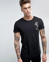 Religion T-shirt With Large Skeleton