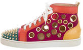 Christian Louboutin Bubble Spike Flat Sneakers