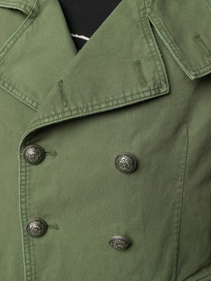 Balmain Military Double-Breasted Coat