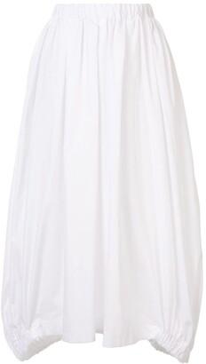 Comme des Garçons Comme des Garçons Elasticated Midi Skirt