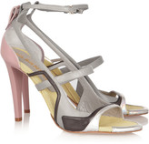 Jil Sander Color-block leather sandals