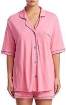 Cosabella Women's Bella Boxer Cotton Pajama Set Extended Size