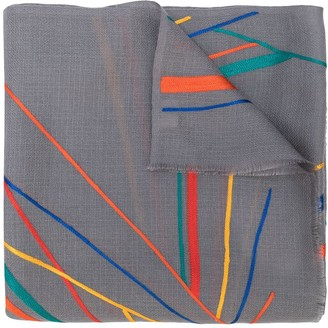 Janavi K. Sunrise cashmere scarf