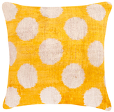 Found Object Square Textured Pillow