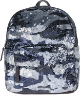 Accessorize Sequin Camo Mini Backpack