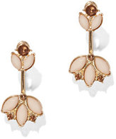 New York & Co. Goldtone Floral Post Earring