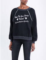 Wildfox Couture Champagne jersey sweatshirt