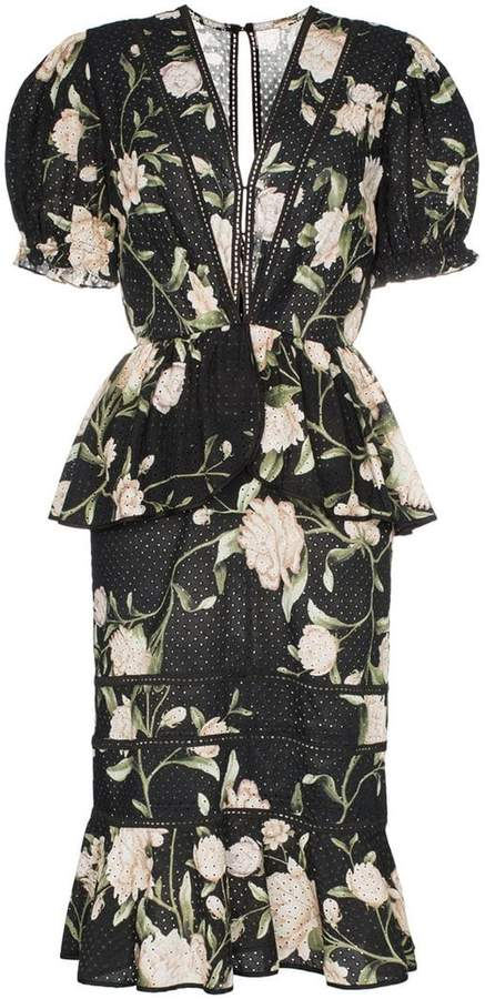 93699b629f3 Oriental Floral Dress - ShopStyle