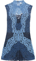 Sandro Cutout Corded Lace Playsuit