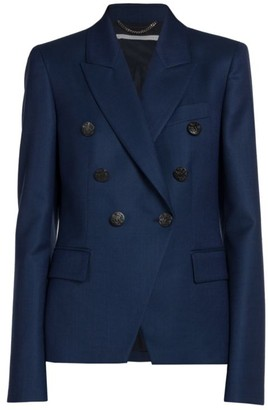 Stella McCartney Robin Double Breasted Wool Jacket