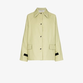 Kassl Editions Reversible Buttoned Canvas Jacket