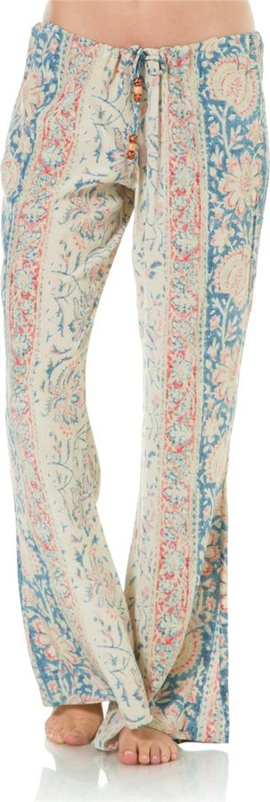 Chaser Silk Tapestry Bell Pant