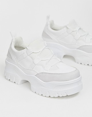 ASOS DESIGN Distance chunky trainers