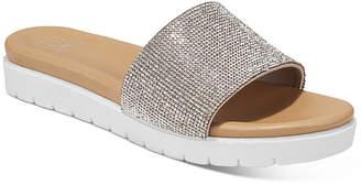 Material Girl Women Safirah Flat Thong Sandals, Women Shoes