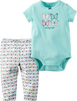Carter's Bodysuit and Pants Set - Baby Girls newborn-24m