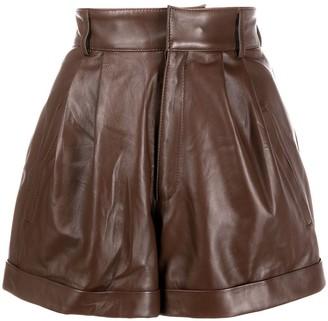 Manokhi Jett high-waisted shorts