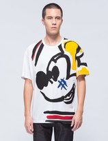 Iceberg Mickey Mouse Sketch S/S T-Shirt