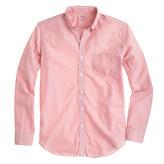 J.Crew Secret Wash shirt in ashford berry stripe