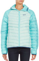 Jack Wolfskin Colorblocked Down Puffer Coat
