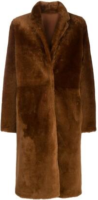 Yves Salomon Lamb Fur Coat