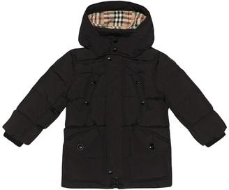 BURBERRY KIDS Ryker hooded coat