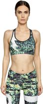 Reebok Studio Dance Techno Jersey Sports Bra