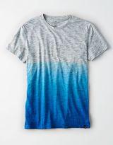 American Eagle Outfitters AE Flex Dip Dye Crew T-Shirt