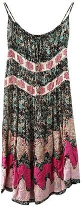 Rare Multicolour Silk Dress for Women