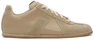 Maison Margiela Beige Classic Replica Sneakers